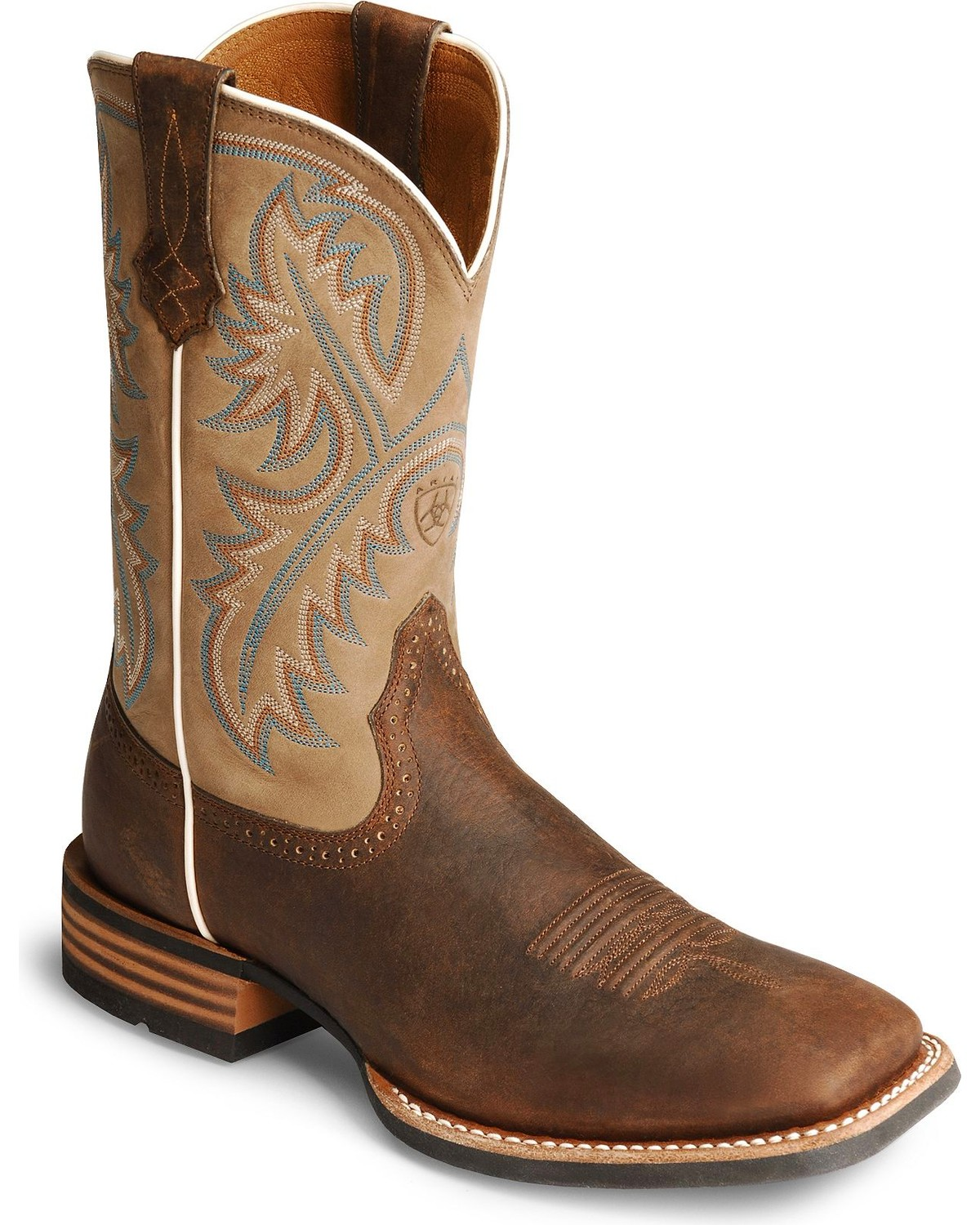 Ariat Quickdraw 11quot Western Boots Square Toe Sheplers