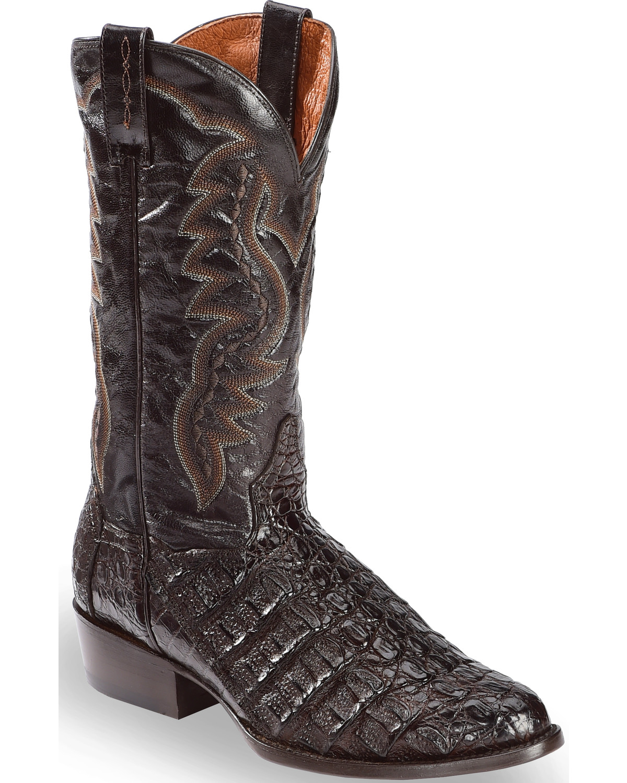 Dan Post Flank Caiman Cowboy Boots Sheplers