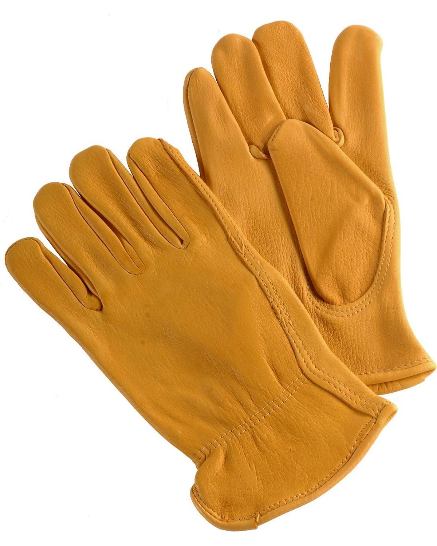 Hd xtreme deerskin gloves tan hi res