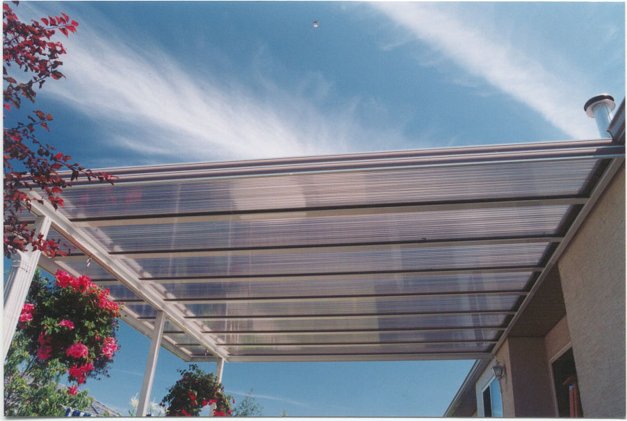 Clear Patio Roof Materials Acrylic Roof - Specifications and Photo Gallery