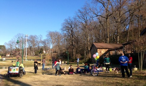 Picnic at Avondale Park for Jen West and myself