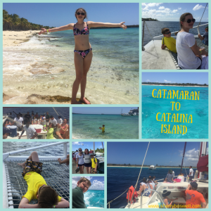 Catalina Island Catamaran Adventure from the Dominican Republic