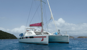 Catamaran Cruising the Caribbean with iYachtClub