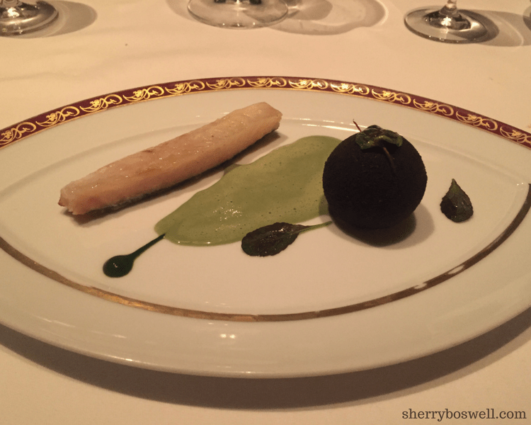dine at Remy on your Disney cruise John Dory