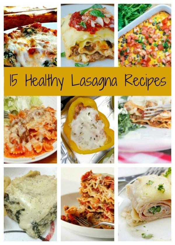 15 Healthy Lasagna recipes