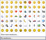 Microsoft Emoticons List