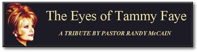 Randy McCain's tribute to Tammy Faye