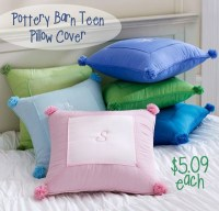 Pottery Barn Teen Pillow Cover For $5.09 - SheSaved