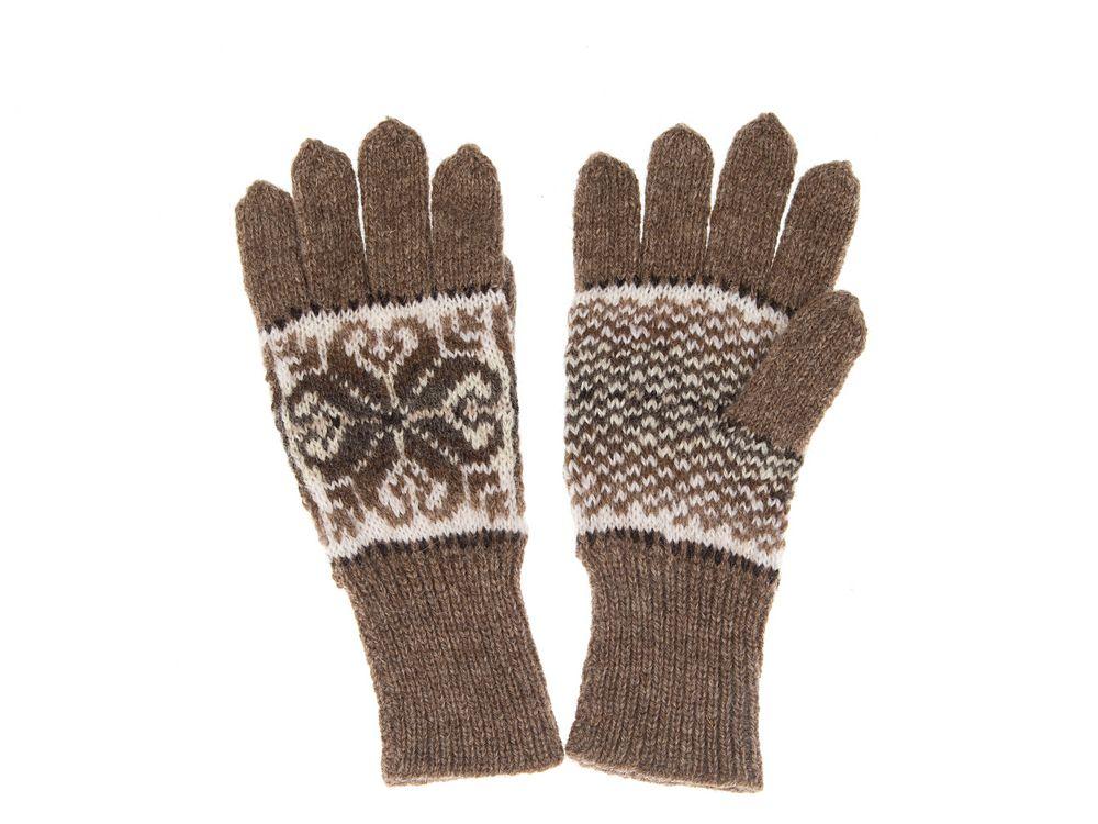 Fair Isle Gloves Mogit Shetland Knitwear