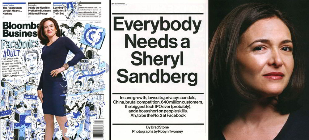Sheryl Sandberg, COO facebook Kick Ass WOMAN! SHEVA