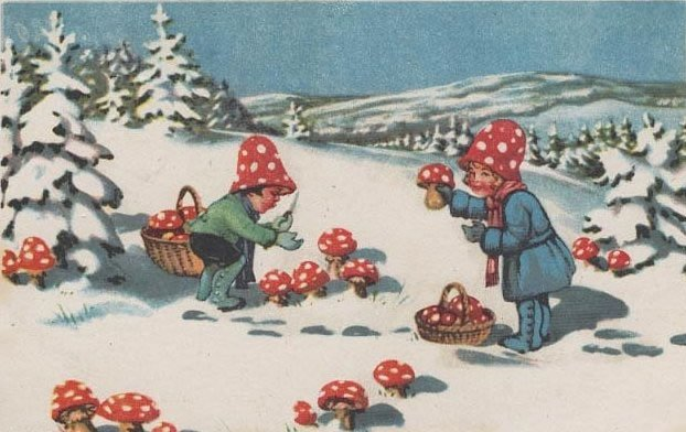 fly_agaric_childrens_holiday_card
