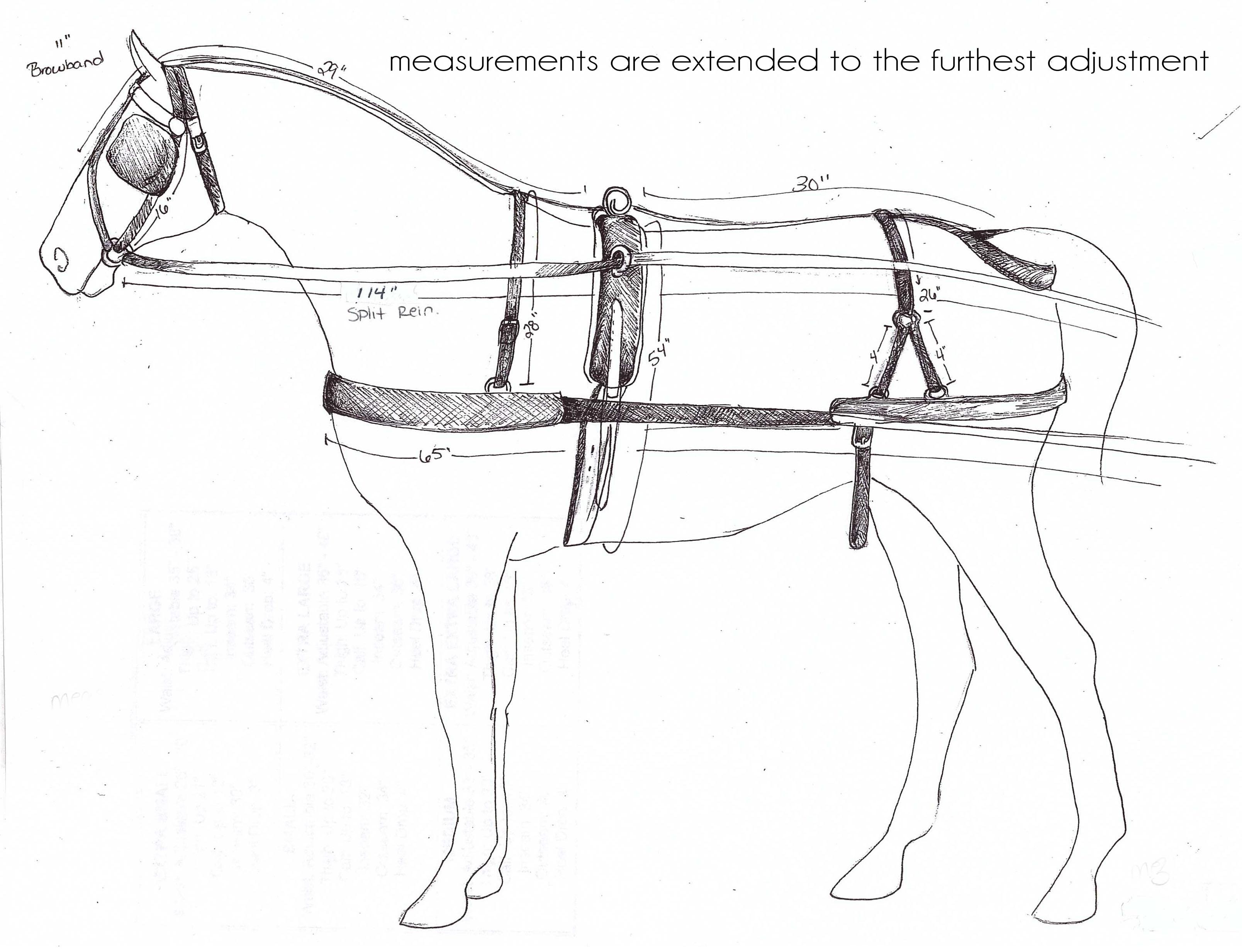 pony harness collar