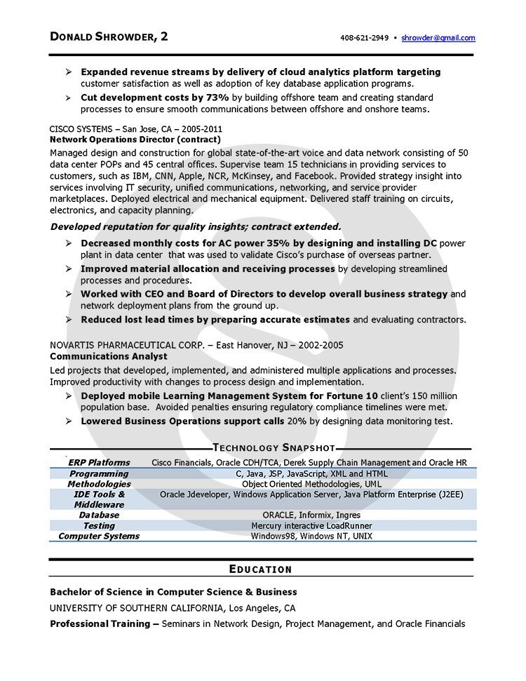 Professional resume Sample Shimmering Careers - xml resume example