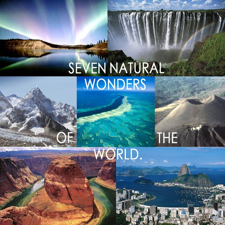 The 7 Natural Wonders of The World \u2013 Shindig Web Trending News In