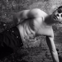 Jake T Austin Shows Off His Muscles for FLAUNT Magazine