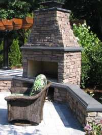 Outdoor Fireplace Kits for the DIYer - Shine Your Light