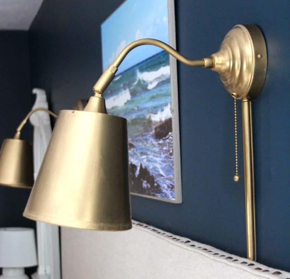 ikea wall light hack shine your light. Black Bedroom Furniture Sets. Home Design Ideas