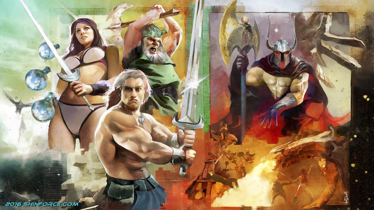 What Is The Wallpaper On The Iphone X Golden Axe Wallpaper Sega Shin Force Gt Elite Series