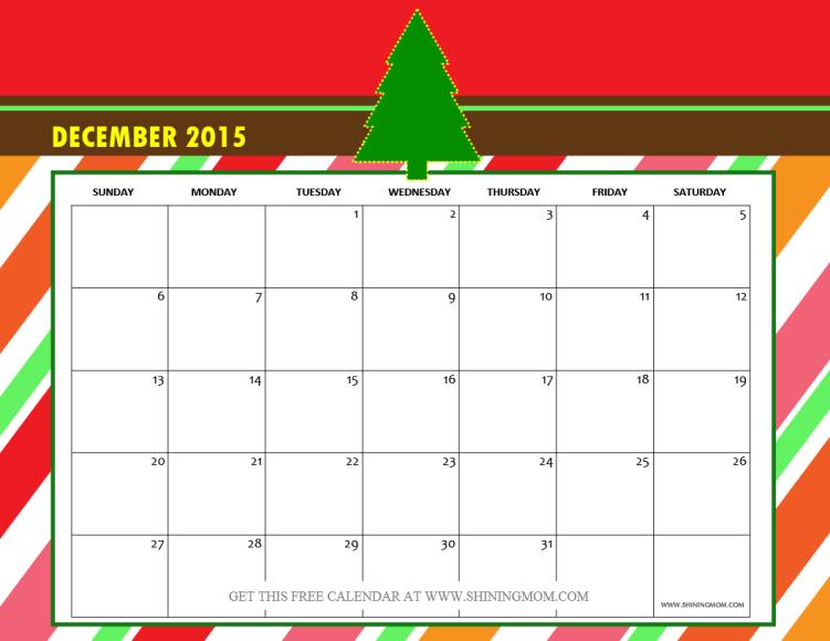 Holiday Calendar Design : December calendars christmas themed designs