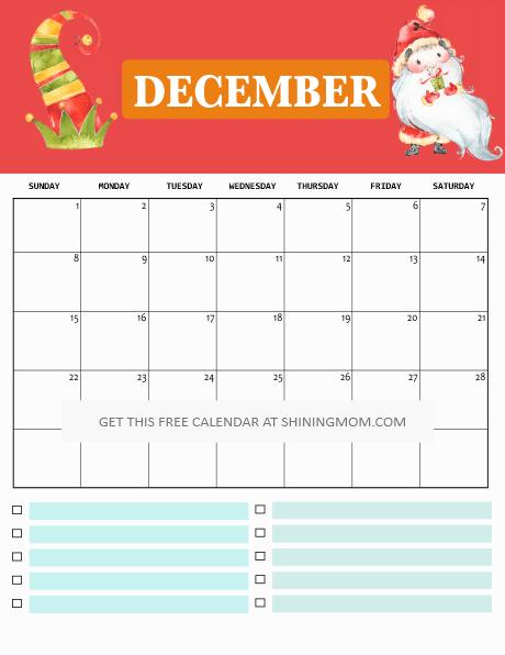 print a calendar 2019 free