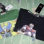Camisetas de Mazinger Z