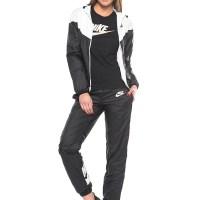 Women's Black & Pink Nike Tracksuit