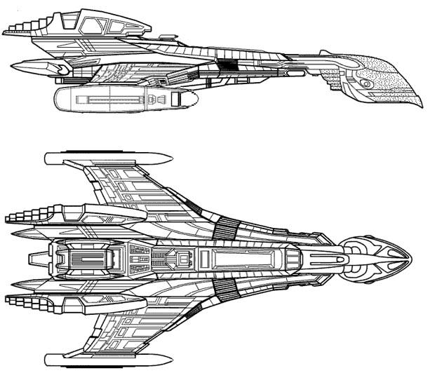 spaceship schematics