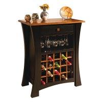 Amish Wine Cabinets, Amish Furniture | Shipshewana ...
