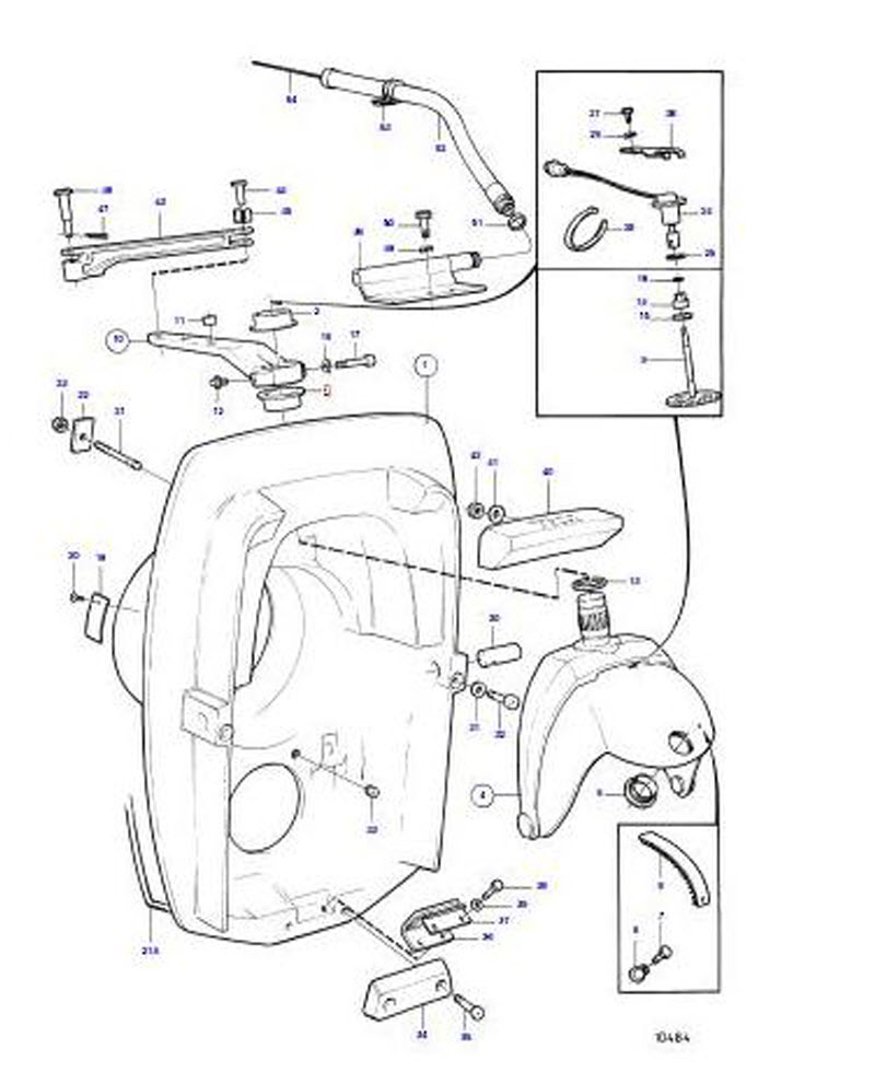 mercruiser 260 starter wiring diagram