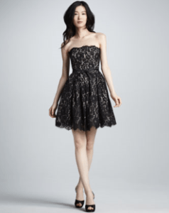 Robert Rodriguez NM+Target Fit-and-Flare Lace Dress