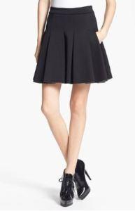 T by Alexander Wang, Bonded Jersey & Neoprene Skirt