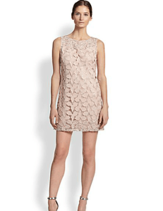 Alice+Olivia - Embellished Sleeveless Shift Dress