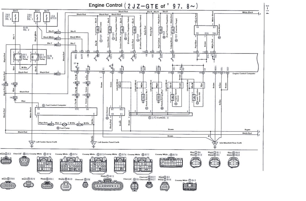 1uzfe alternator wiring diagram
