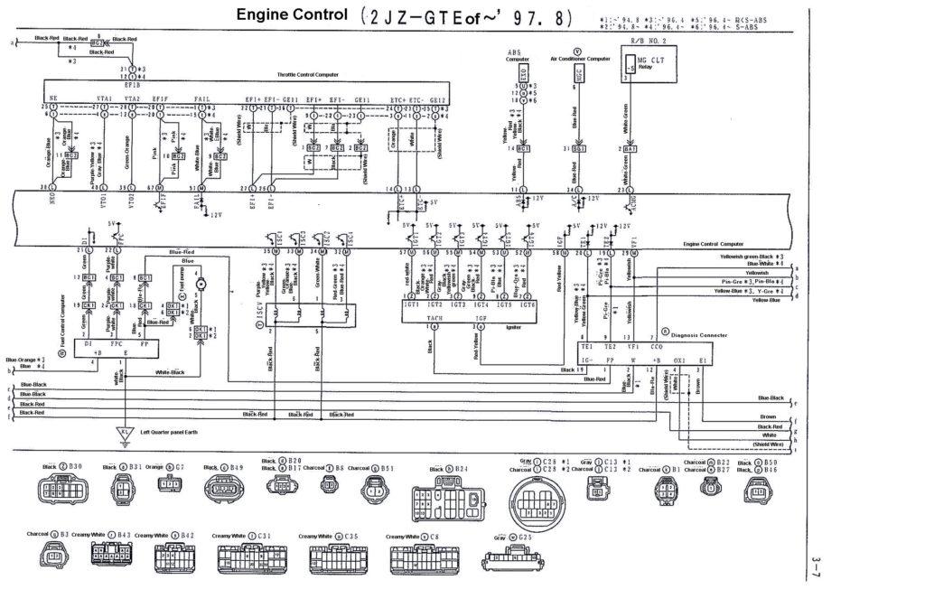 2jz Wiring Diagram - Ethoxpuerepairandremodelhomeinfo \u2022