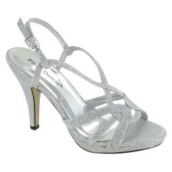 Small Of Silver Dress Shoes