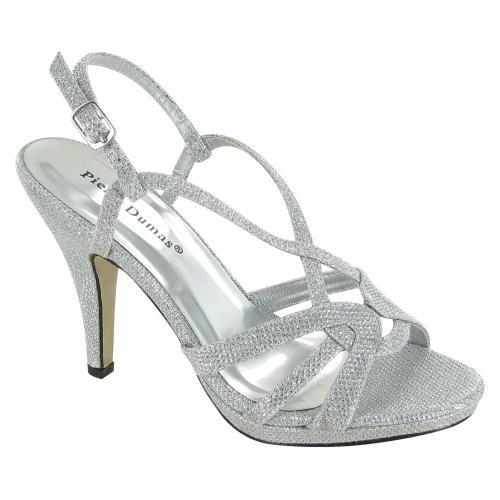 Medium Of Silver Dress Shoes