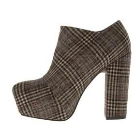 plaid-boots