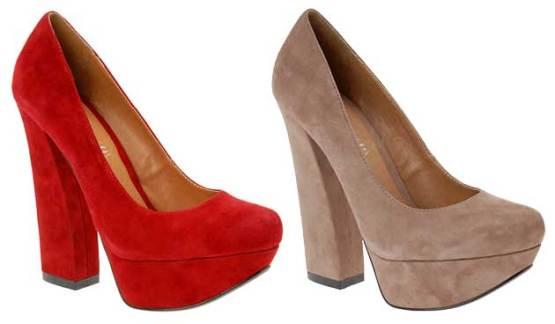aldo-red-suede-shoes