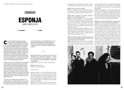 Esponja #01