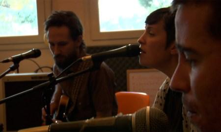 Louise, con Will Johnson  en el documental From Texas