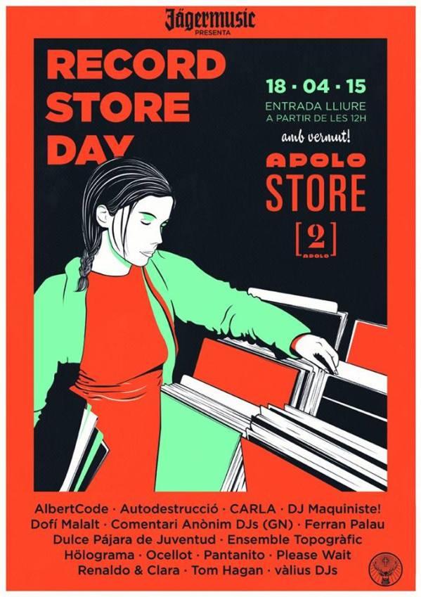 Cartel oficial del RSD En Apolo Store