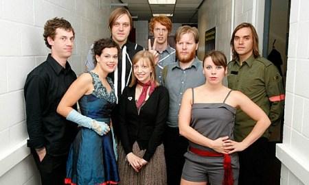 Arcade Fire, en una fotografía de James Quinton