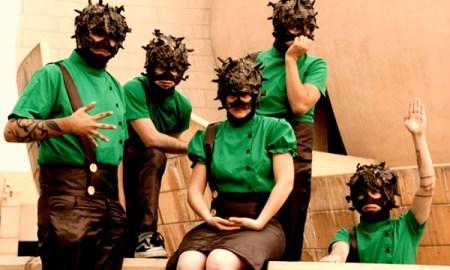Las máscaras y disfraces, marca de la casa en Austin TV // ATV