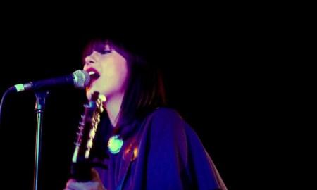 Dee Dee Penny, en un momento del concierto en Apolo // R. Izquierdo