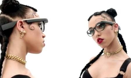 FKA Twigs, de estreno para Google Glass