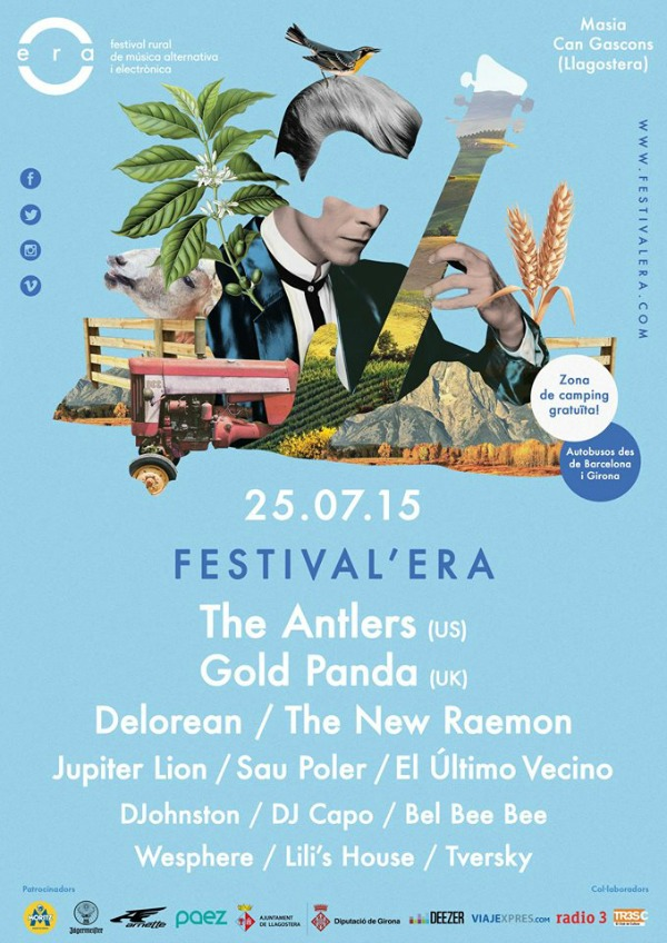 Cartel de la tercera edición del Festival'Era