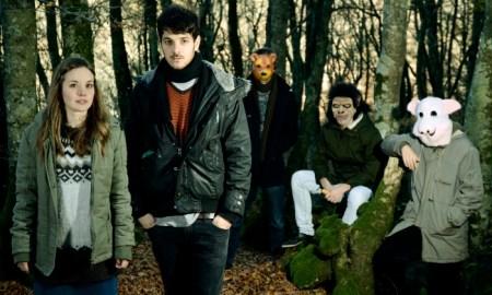 La banda, en una imagen promocional previa al lanzamiento del disco // Ander Iribarren