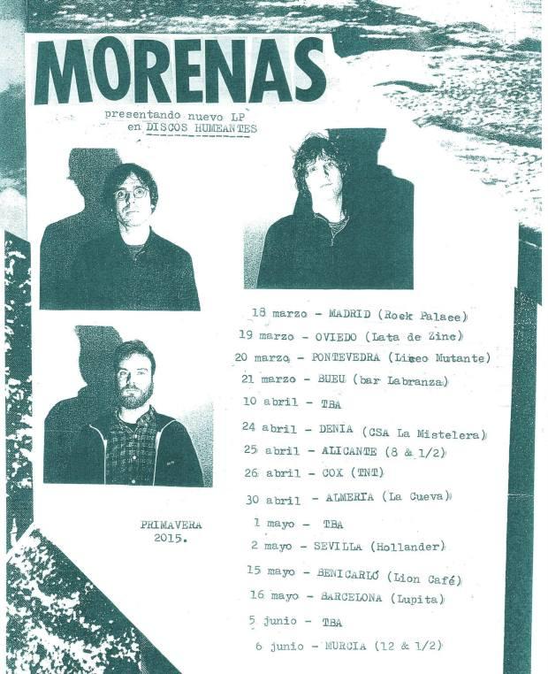 Gira promocional de Morenas