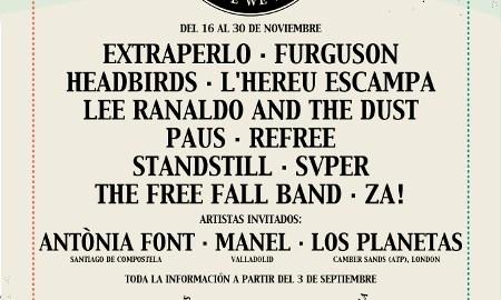 Publicidad sobre el festival, en Rockdelux