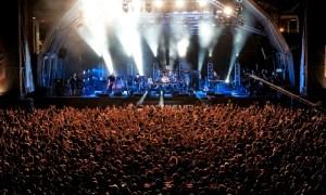 Vista panorámica del concierto de The Cure // Eric Pàmies